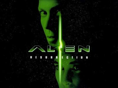 Alien Resurrection Cover
